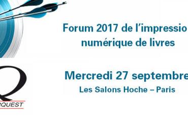 Conférence au Forum Interquest le 27/09/2017 à 11h